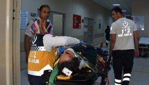 Aksaray'da kaza: 1 ağır 7 yaralı