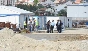 Kütahyada inşaatlara polis baskını