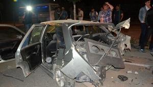 Karabükte iki otomobil çarpıştı: 2 yaralı