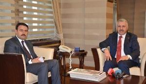 Ulaştırma Bakanı Arslan Ağrıda