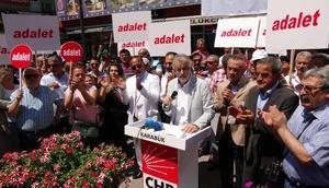 Karabükte CHPden protesto