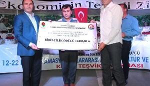 Amasya'da kiraz teşvik yarışması