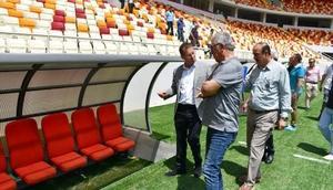 Malatyanın yeni stadı hazır hale geldi Ek Fotoğraf
