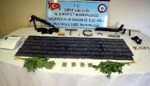 Siirtte organize suç örgütlerine operasyon: 29 gözaltı