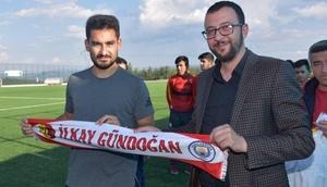 İlkay Gündoğan memleketi Balıkesirde