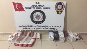 Adıyamanda kaçak sigara operasyonu: 11 gözaltı