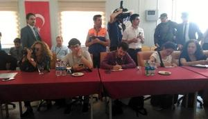 Yabancı gazeteciler Osmaniyede konaklama tesisini inceledi