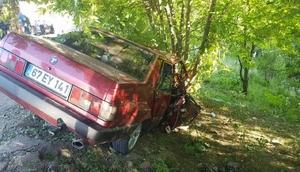 Zonguldakta kaza: 4 yaralı