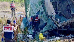 Balıkesirde yolcu otobüsü devrildi: 1 ölü, 47 yaralı