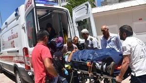 Adıyamanda iki otomobil çarpıştı: 9 yaralı