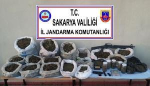 Sakaryada uyuşturucu operasyonu: 4 tutuklama