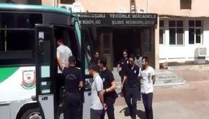 Şanlıurfada FETÖden 8 rütbeli asker tutuklandı