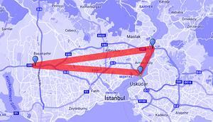 İstanbulda çile üçgeni