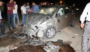 Kırıkkalede kaza: 3 ölü, 8 yaralı