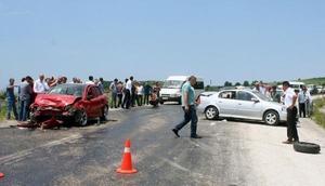Samsunda kaza: 8 yaralı