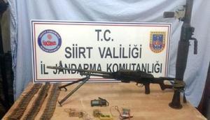 Siirtte PKK cephaneliği ele geçirildi