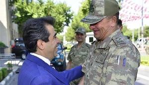 2inci Ordu Komutanı Korgeneral Temel, Diyarbakır Valisini ziyaret etti