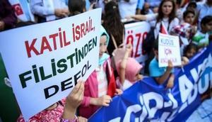 Bursa'da İsraile Mescid-i Aksa tepkisi