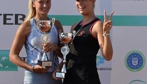 Bursa'da çiftlerin şampiyonu Ivakhnenko-Vasylyeva