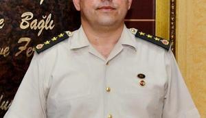 Antalya Jandarmaya Tuğgeneral Yıldız