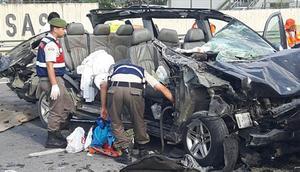 Bilecikte trafik kazası: 3 ölü, 2 yaralı