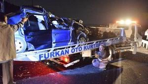 Mardin'de kaza: 2 ölü, 2 yaralı