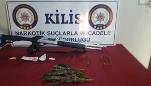 Kiliste uyuşturucuya 2 tutuklama