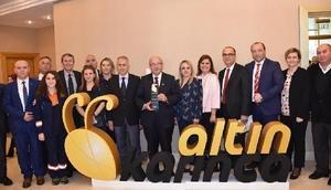 Tekirdağ Büyükşehir Belediyesine Altın Karınca ödülü