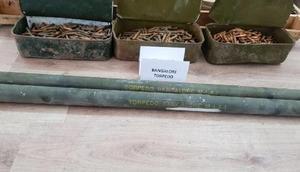 Siirtte, Bangalore Torpedo adı verilen çok etkili patlayıcı düzeneği ele geçirildi