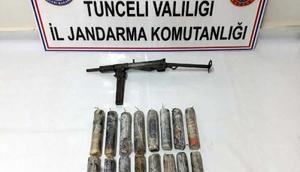 Tuncelide 16 adet el yapımı patlayıcı bulundu