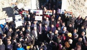 Sinopta Kudüs protestosu