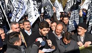 Van, Bitlis ve Hakkaride Kudüs protestoları