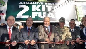 Osmaniye Belediyesi Kitap Fuarı açıldı