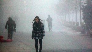 Boluda yoğun sis