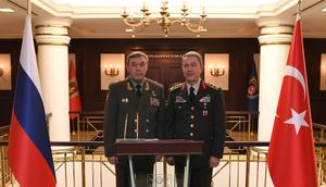 Rusya Genelkurmay Başkanından Ankara'ya sürpriz ziyaret
