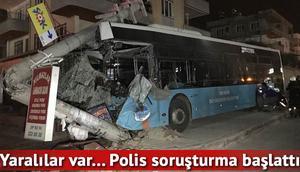 Otobüs, minibüs, otomobil... Zincirleme kazada yaralılar var