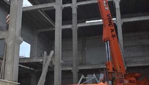 İzmirde inşaatta çökme: 1 ölü, 1 yaralı - ek fotoğraflar