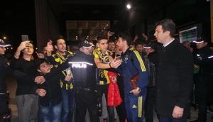 Fenerbahçe kafilesi Giresunda