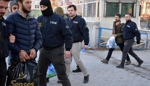 Ağrıda terör propagandasına 8 tutuklama
