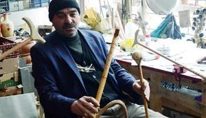 Yozgat'ta ahşap oymacılığının son temsilcisi