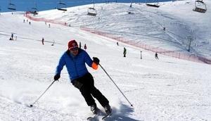 Bingölde Hesarek Kayak Merkezinde masterlar yarışması