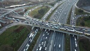 İstanbulda ikinci yarıyıl trafiği
