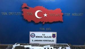 Bingölde PKKya ait çok sayıda mühimmat ele geçirildi