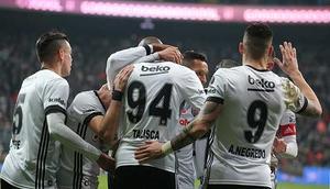 Beşiktaş evinde Karabüke patladı Gol yağmuru...
