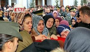 Şehit Pilot Üsteğmenin cenazesi, Kırıkkalede toprağa verildi/Ek fotoğraflar