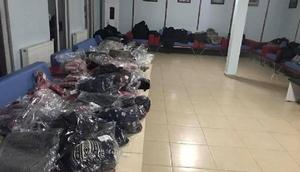 Bingöl'de şehit ve gazi çocuklarına kıyafet yardımı