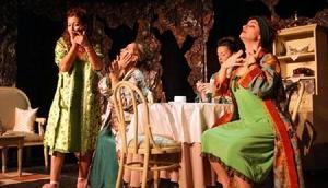 Kırklareli'nde Düdüklüde Kıymalı Bamya tiyatro oyunu sahnelendi