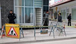 Yozgatta şehidi icraya veren avukatın bürosuna saldırı