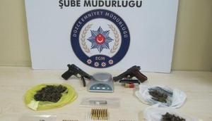 Düzcede uyuşturucu operasyonu