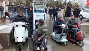 Yozgat'ta akülü tekerlekli sandalye şarj istasyonu açıldı
